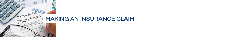 making an insurance claim
