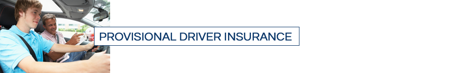 provisional driver insurance